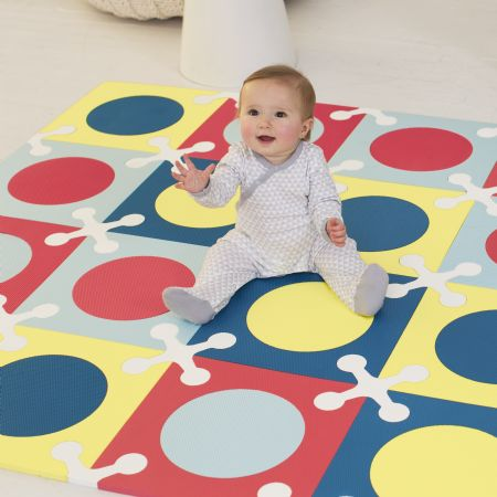 Skip Hop Interlocking Foam Floor Tiles Multi Mix Gyms Playmats