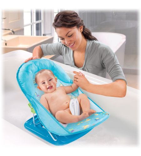 summer infant deluxe baby bather bath in splish splash bath tubs canada 39 s baby store. Black Bedroom Furniture Sets. Home Design Ideas
