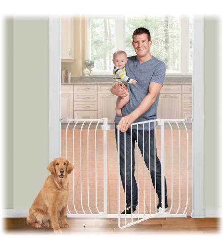 Summer Infant Sure And Secure Extra Tall Walk Thru Safety Gate In