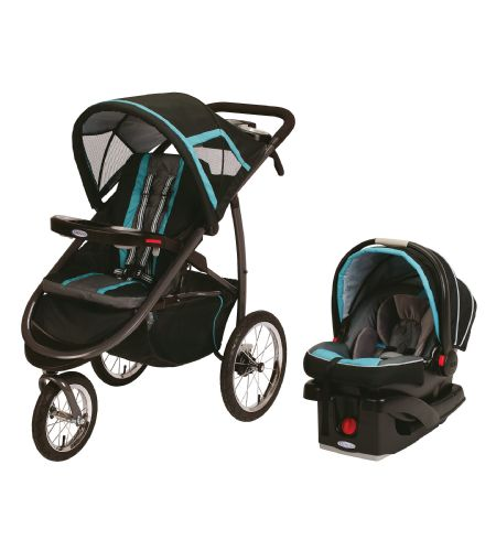 Graco Fastaction Fold Click Connect Jogger Travel System Stroller Canada