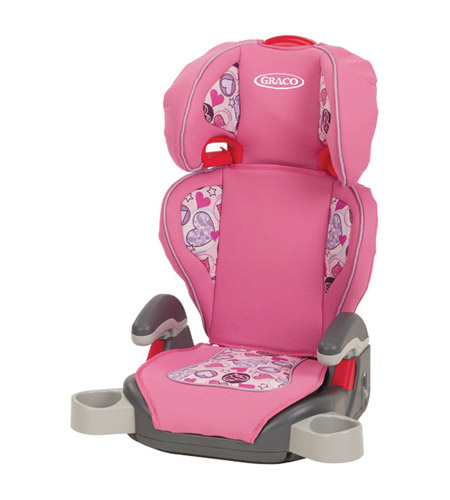 Graco TurboBooster Car Seat Love Hearts
