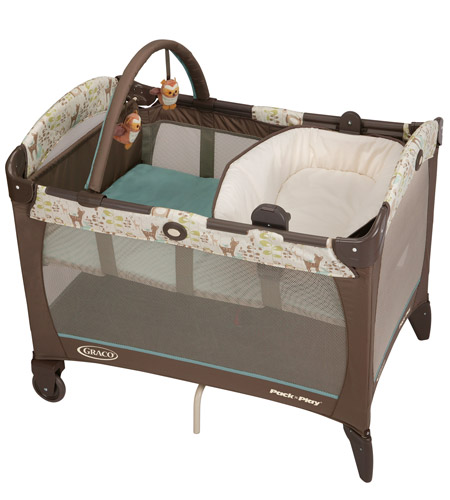 Graco Pack N Play Bassinet 602lg Series Instructions The Grey